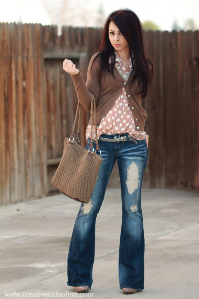 5 Days/5 Outfits With Boot-Cut Jeans!
