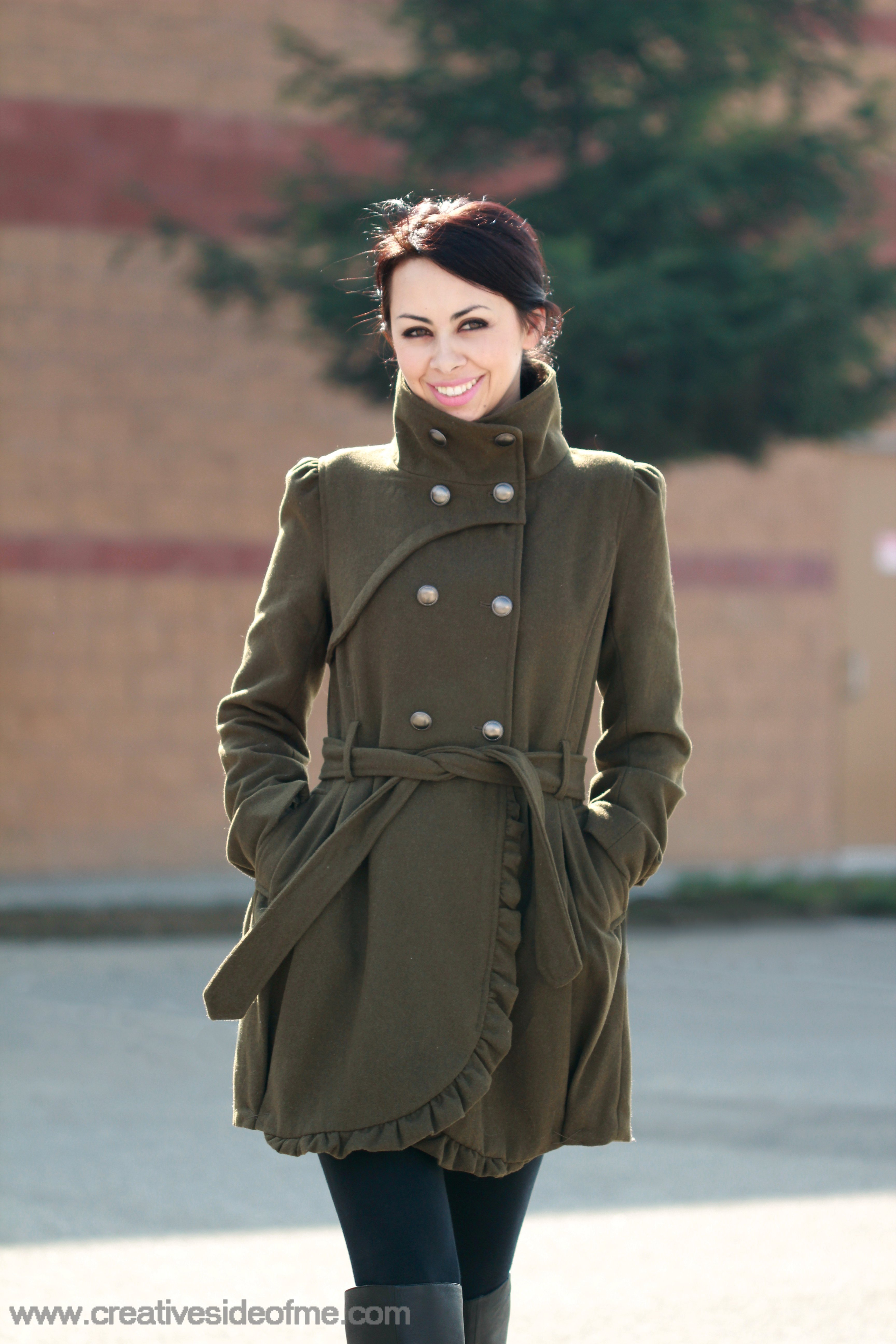 Next Military Coat | Down Coat